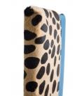 Pochette cuir & léopard MAPUTO
