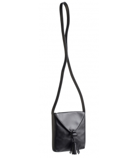 Small handbag with leather tassle ANITA
