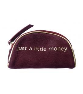 half-moon shaped purse