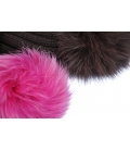 Beanie with fur poms TELLURIDE