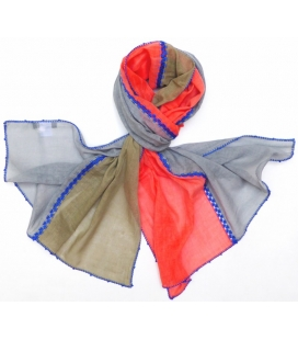 Foulard Corail VOLUBILIS LéO ATLaNTE