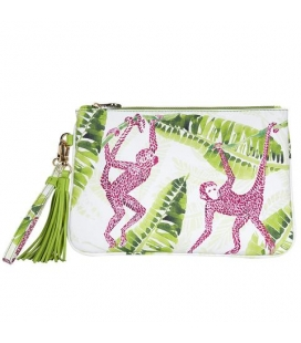 Pochette pompons TROPICAL JUNGLE