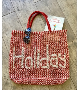 Panier en jute HOLIDAY