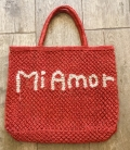 Beach jute basket AMOUR