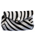 Small coin purse ZEBRE