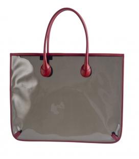 Grand sac vinyl et cuir GOYA