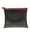 Vinyl & leather pouch PETIT GOYA
